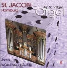 Jens Wollenschläger - Arp Schnitger-Orgel St.Jacobi Hamburg, CD