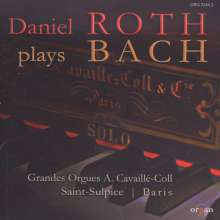 Daniel Roth plays Bach, CD