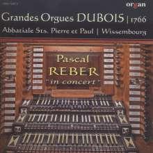 Pascal Reber ... in concert, CD