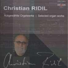Christian Ridil (geb. 1943): Orgelwerke, CD