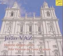 Die historische Orgel Sao Vicente de Fora Lissabon, CD