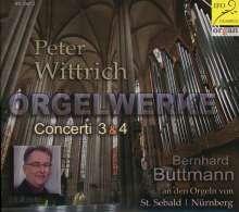 """Peter Wittrich (geb. 1959): Orgelkonzerte Nr.3 """"Pax"""" & Nr.4 """"Apostelbilder"""", CD"""