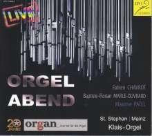 Orgelabend, CD