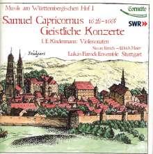 Samuel Capricornus (1628-1665): Geistliche Konzerte, CD
