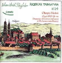 Johann Ulrich Steigleder (1593-1635): Ricercar Tabulatura 1624, CD
