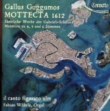 Gallus Guggumos (1590-1666): Motetten, CD