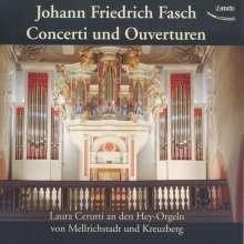 Johann Friedrich Fasch (1688-1758): Concerti & Ouvertüren für Orgel, 2 CDs