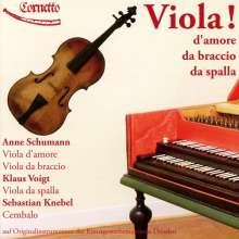 Viola! d'amore / da braccio / da spalla, CD