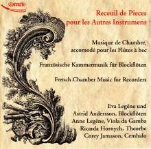 Französische Kammermusik für Blockflöten, CD