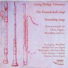 Georg Philipp Telemann (1681-1767): Kammermusik für Bläser, CD