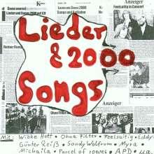 Lieder & Songs 2000, CD