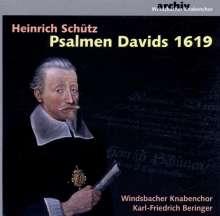 Heinrich Schütz (1585-1672): Psalmen Davids SWV 24,25,28-31,35,36,37,39, CD