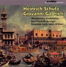 Windsbacher Knabenchor - Schütz & Gabrieli, CD