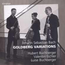 Johann Sebastian Bach (1685-1750): Goldberg - Variationen BWV 988 für Streichtrio, CD