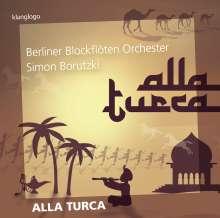 Berliner Blockflötenorchester - Alla Turca, CD