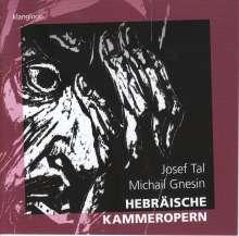 Josef Tal (1910-2008): Saul in Ein Dor (in hebräischer Sprache), CD