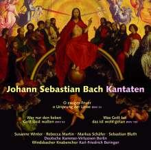 Johann Sebastian Bach (1685-1750): Kantaten BWV 14,93,100, CD