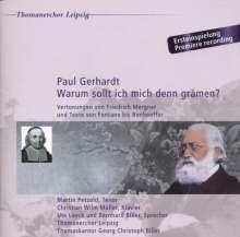 Paul Gerhardt - Warum sollt ich mich denn grämen?, CD