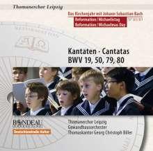 Thomanerchor Leipzig - Das Kirchenjahr mit Bach Vol.10, CD