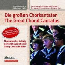 Thomanerchor Leipzig - Das Kirchenjahr mit Bach Vol.1-10, 11 CDs