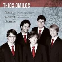 Thios Omilos - Kontraste in der deutschen Kirchemusik (1600), CD
