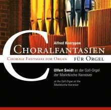 Alfred Koerppen (geb. 1926): Choralfantasien für Orgel, CD
