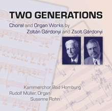 Zoltan Gardonyi (1906-1986): Chorwerke, CD