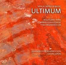 Kammerchor Saarbrücken - Ultimum, CD