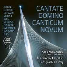 Kammerchor I Vocalisti - Cantate Domino Canticum Novum, CD