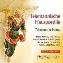 Georg Philipp Telemann (1681-1767): Telemannische Hauspostille, CD