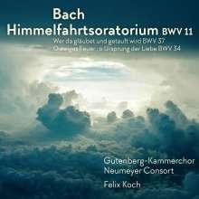 Johann Sebastian Bach (1685-1750): Himmelfahrts-Oratorium (Kantate) BWV 11, CD