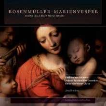 Johann Rosenmüller (1619-1684): Vespro della Beata Vergine, 2 CDs