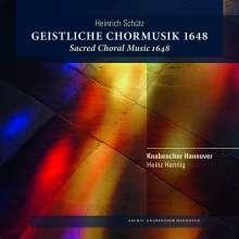 Heinrich Schütz (1585-1672): Geistliche Chormusik 1648 SWV 369-397, 2 CDs