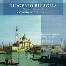 Diogenio Bigaglia (1676-1745): Missa in F, CD
