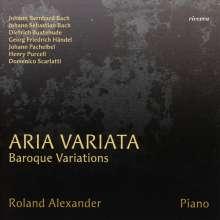 Roland Alexander - Aria Variata (Barocke Variationen), CD