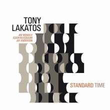 Tony Lakatos (geb. 1958): Standard Time, CD