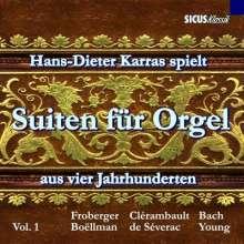 Hans-Dieter Karras - Orgelsuiten aus 4 Jahrhunderten, CD