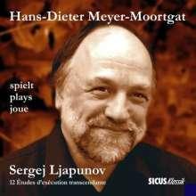 Sergei Lyapunov (1859-1924): Transcendentale Etudes op.11 Nr.1-12, CD