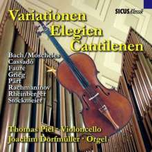 Werke für Cello & Orgel - Variationen,Elegien,Cantilenen, CD