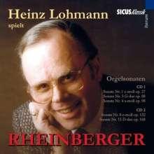 Josef Rheinberger (1839-1901): Orgelsonaten Nr.1,3,4,8,15, CD