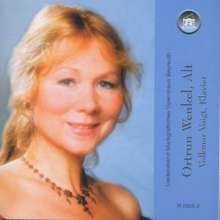 Ortrun Wenkel singt Lieder, CD