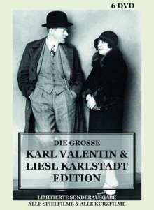 Die grosse Karl Valentin & Liesl Karlstadt Edition (Mediabook), 6 DVDs