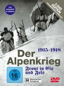 Krieg: Der Alpenkrieg 1915-1918 / Standschütze Bruggler, 3 DVDs
