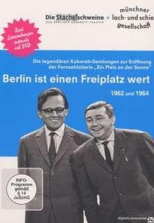 Berlin ist einen Freiplatz wert (Die Stachelschweine + Münchner Lach- und Schießgesellschaft), DVD
