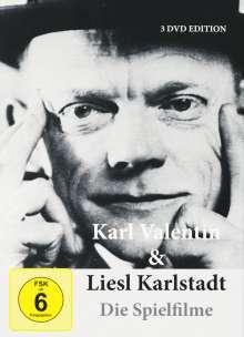 Karl Valentin & Liesl Karlstadt: Die Spielfilme, 3 DVDs