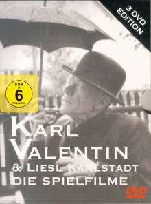 Karl Valentin & Liesl Karlstadt: Drei Spielfilme, 3 DVDs