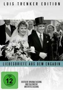 Liebesbriefe aus dem Engadin, DVD