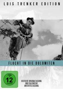 Flucht in die Dolomiten, DVD