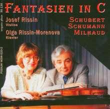 Darius Milhaud (1892-1974): Cinema-Fantaisie für Violine & Klavier, CD