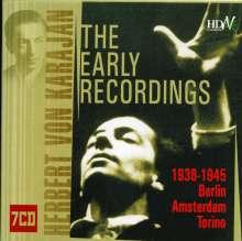 Herbert von Karajan - Early Recordings, 7 CDs